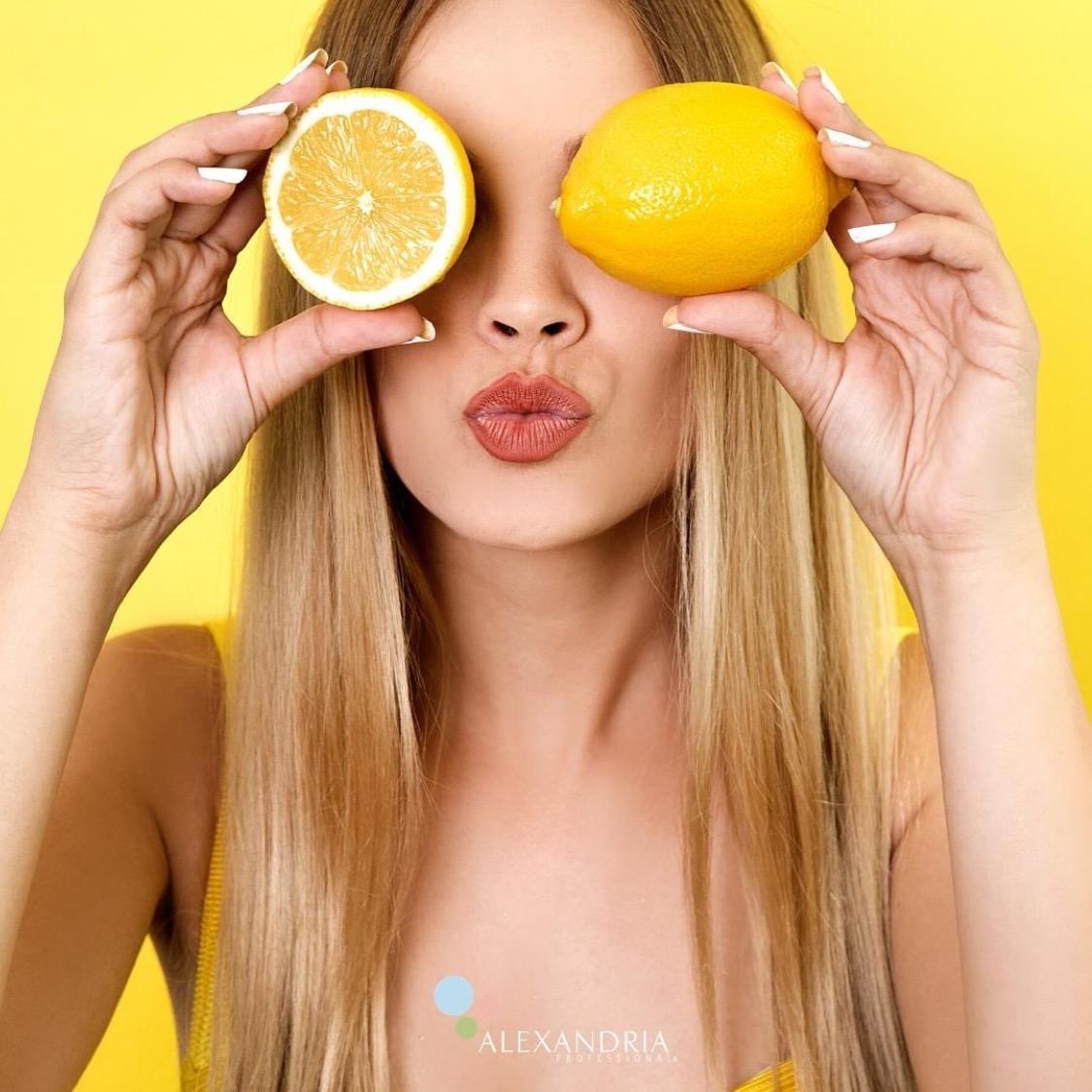 Cukrová pasta a citron