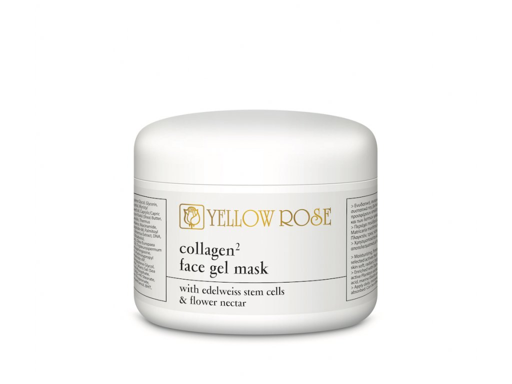 yellow-rose-collagen-face gel-mask-charde