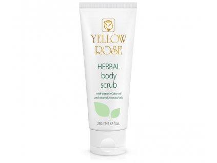 yellow rose herbal body scrub TUBE 250ML