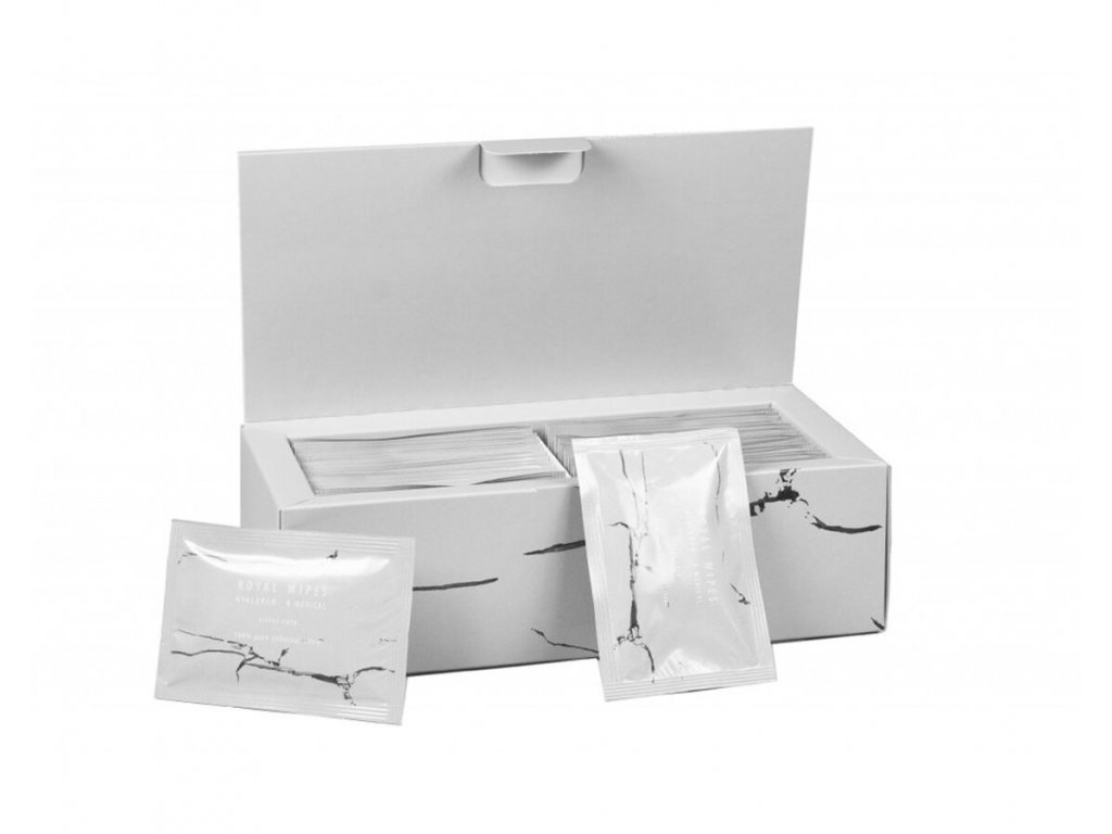 Vlhčené ubrousky s koloidním stříbrem