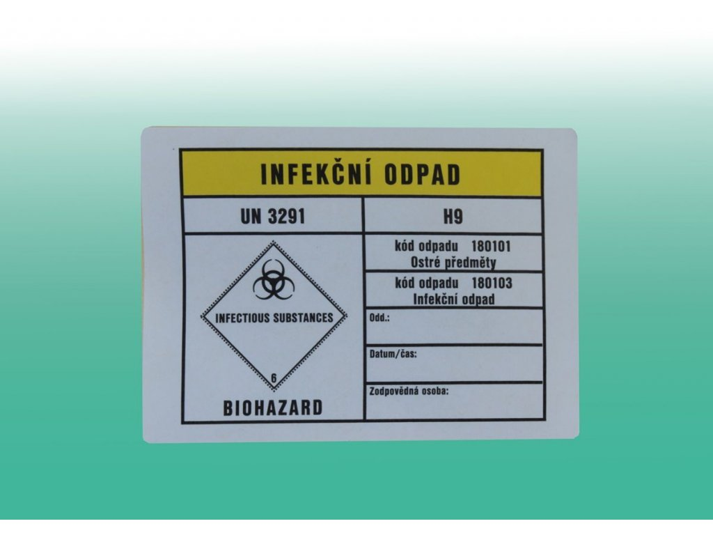 Viněta infekcni odpad