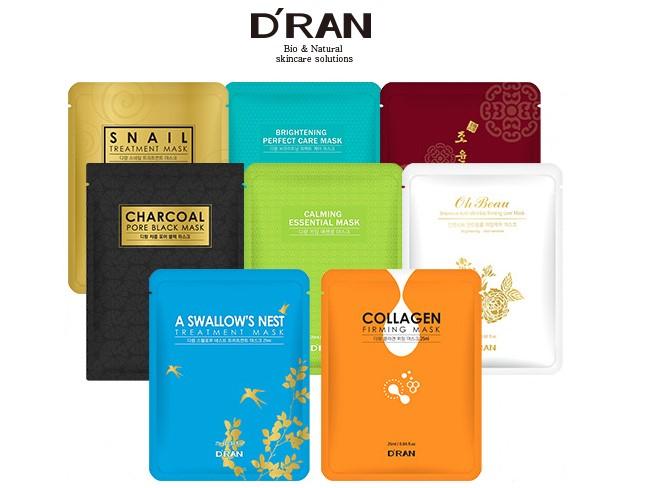 D'RAN Korea - Pleťové masky