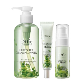 Ottie Pure Natural Green Tea Line
