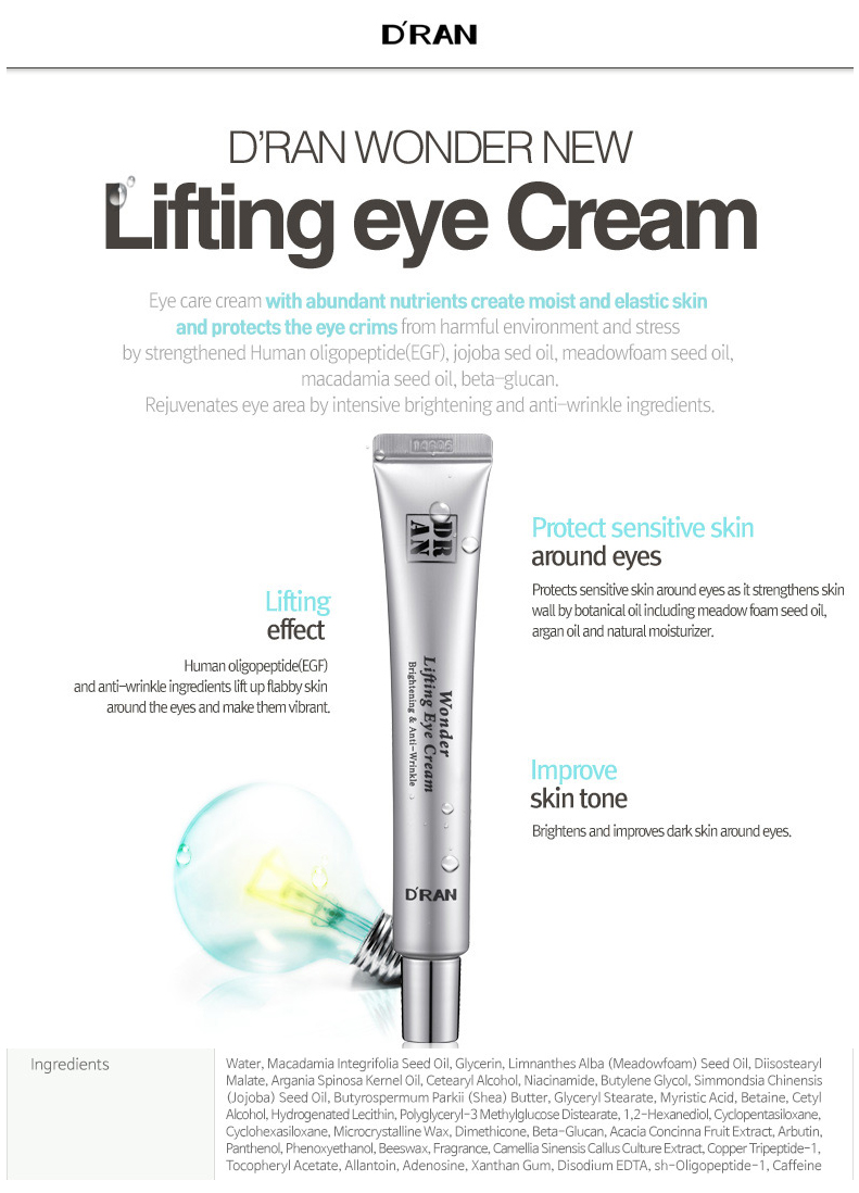 DRAN Wonder Lifting Eye Cream