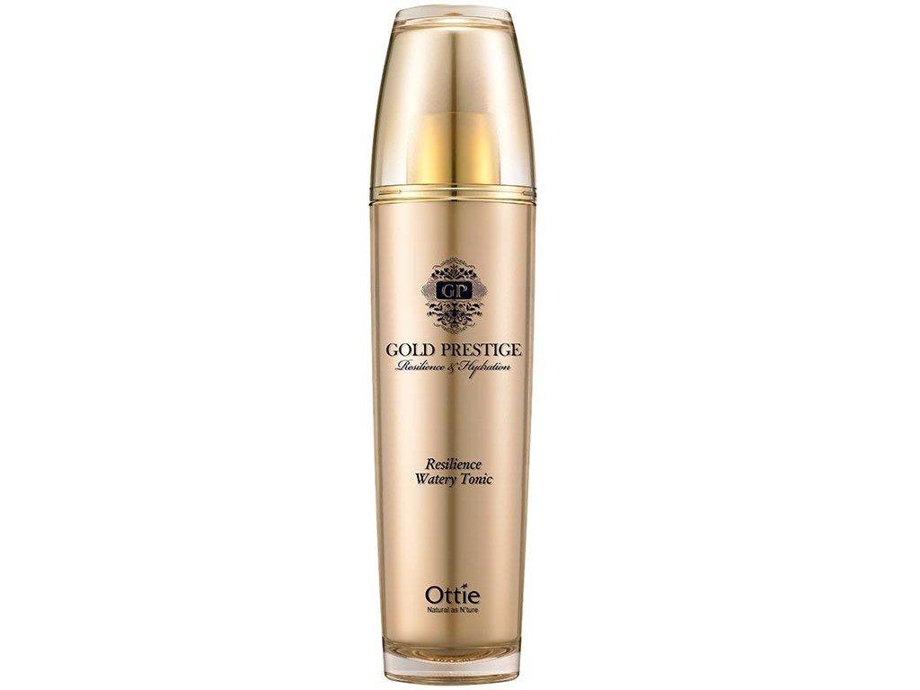 Ottie Gold Prestige Resilience Watery Tonic - Protivrásková tonizační voda 120ml