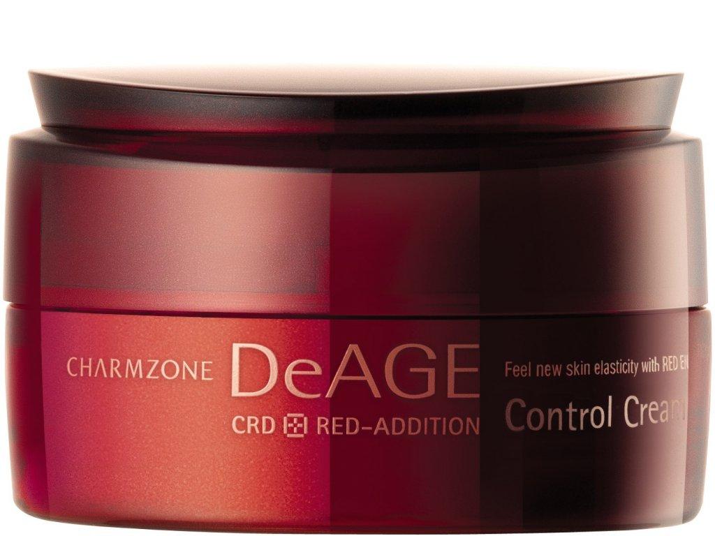 CHARMZONE DeAGE CRD Red-Addition Control Cream - Čistící a maz-regulující pleťový krém / 180ml