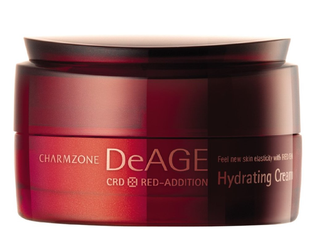 CHARMZONE DeAGE CRD Red-Addition Hydrating Cream - Hydratační krém / 50ml