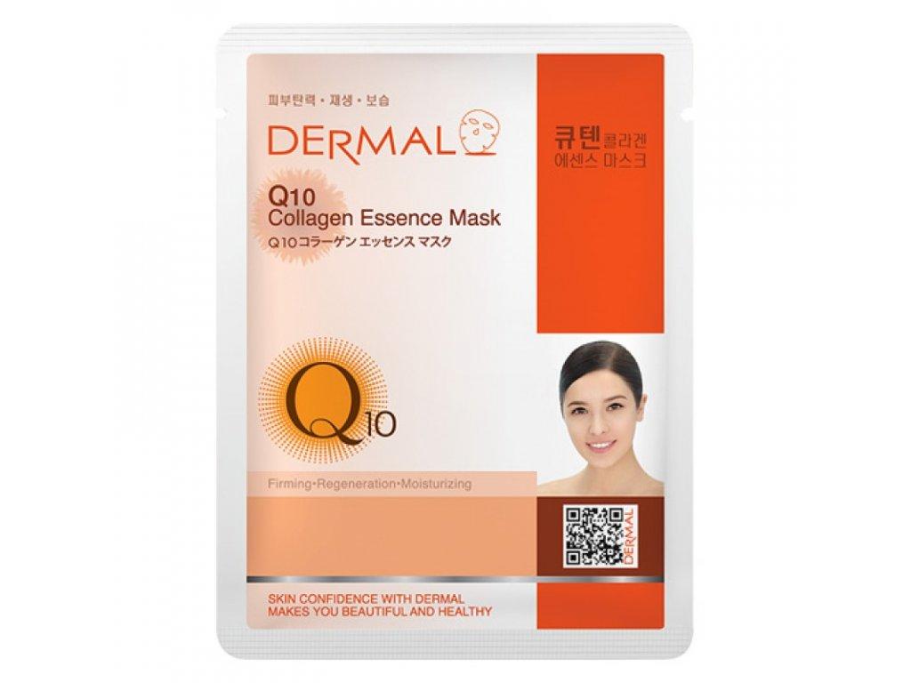 DERMAL Korea Q10 Collagen Essence Mask - Esenční kolagenová maska s Q10