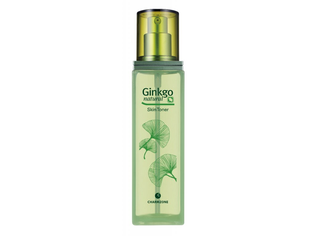 CHARMZONE Ginkgo Natural Skin Toner - Přírodní zjemňující tonizační voda 130ml
