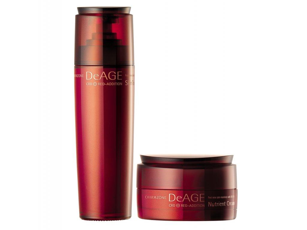 CHARMZONE DeAGE CRD Red-Addition Nutrient Cream + Skin Toner