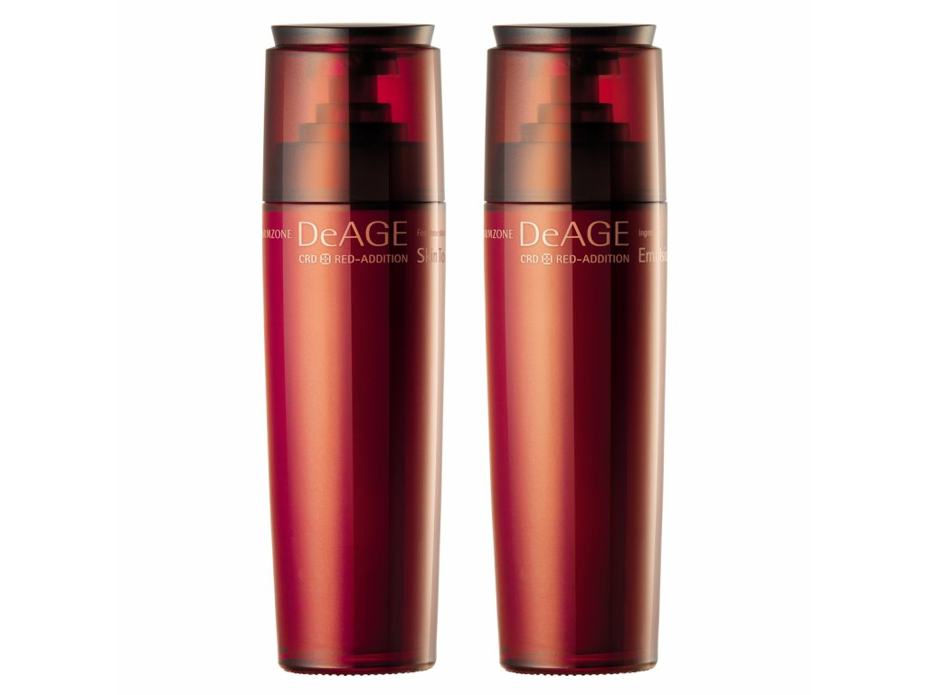 CHARMZONE DeAGE CRD Red-Addition Skin Toner + Emulsion