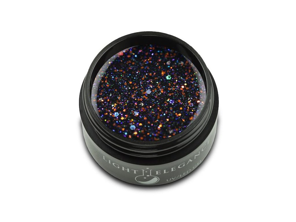 LIGHT ELEGANCE™ Black Magic UV/LED Glitter Gel / 17g