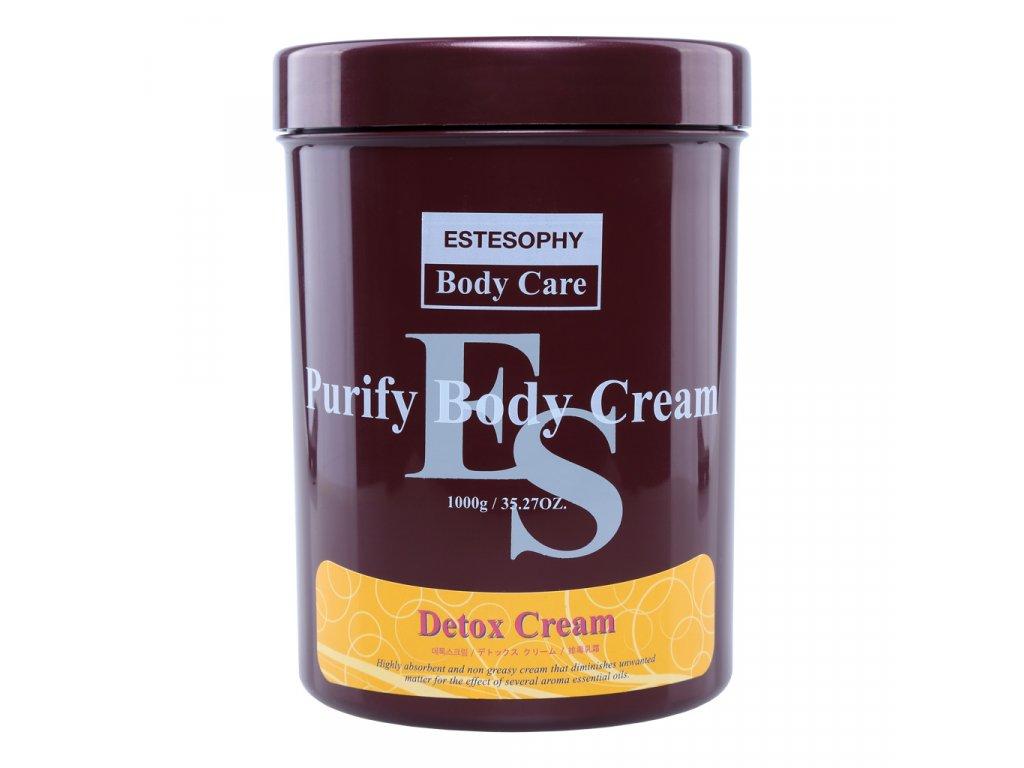 SARANGSAE Estesophy Purify Body Cream Detox - Detoxikační tělový masážní krém / 1000g