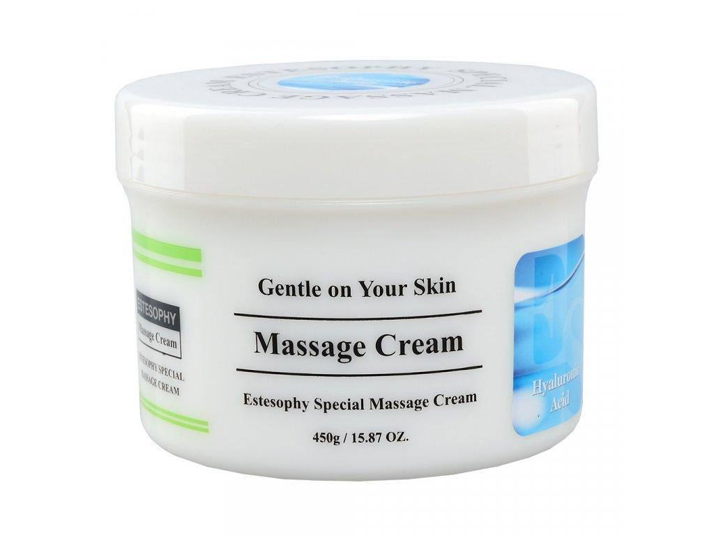 SARANGSAE Estesophy Special Massage Cream Hyaluronic Acid - Pleťový masážní krém s kyselinou hyaluronovou / 450g