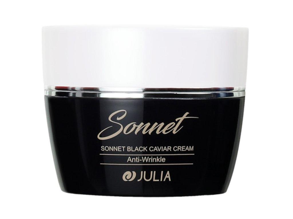 julia sonet black caviar cream