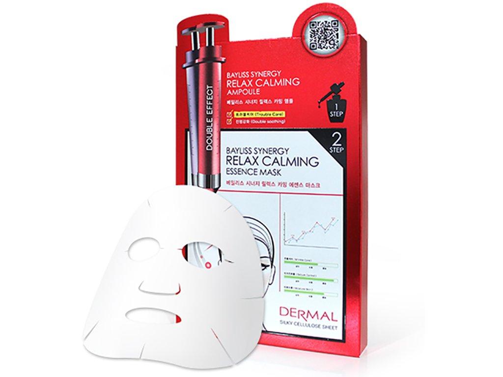 Dermal Korea Bayliss Synergy Relax Calming Essence Mask - Speciální esenční maska relaxační a uklidňující