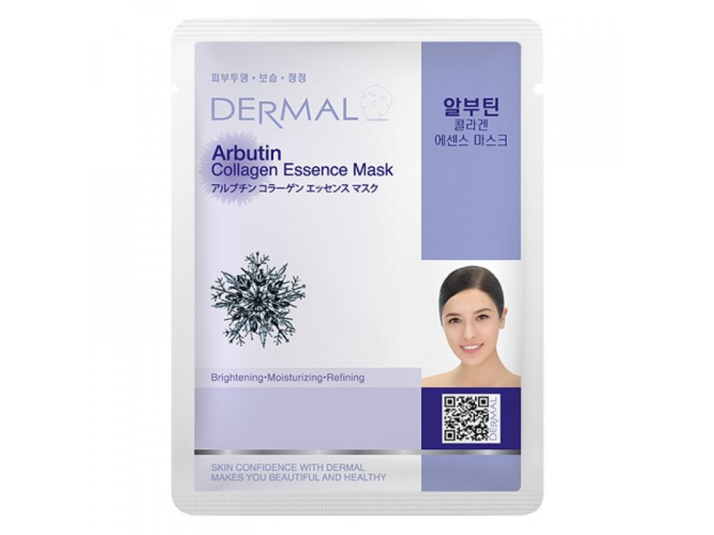 Dermal Korea Arbutin Collagen Essence Mask