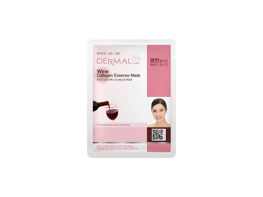dermal-korea-wine-collagen-essence-mask-esencni-kolagenova-maska-s-vinem-23g