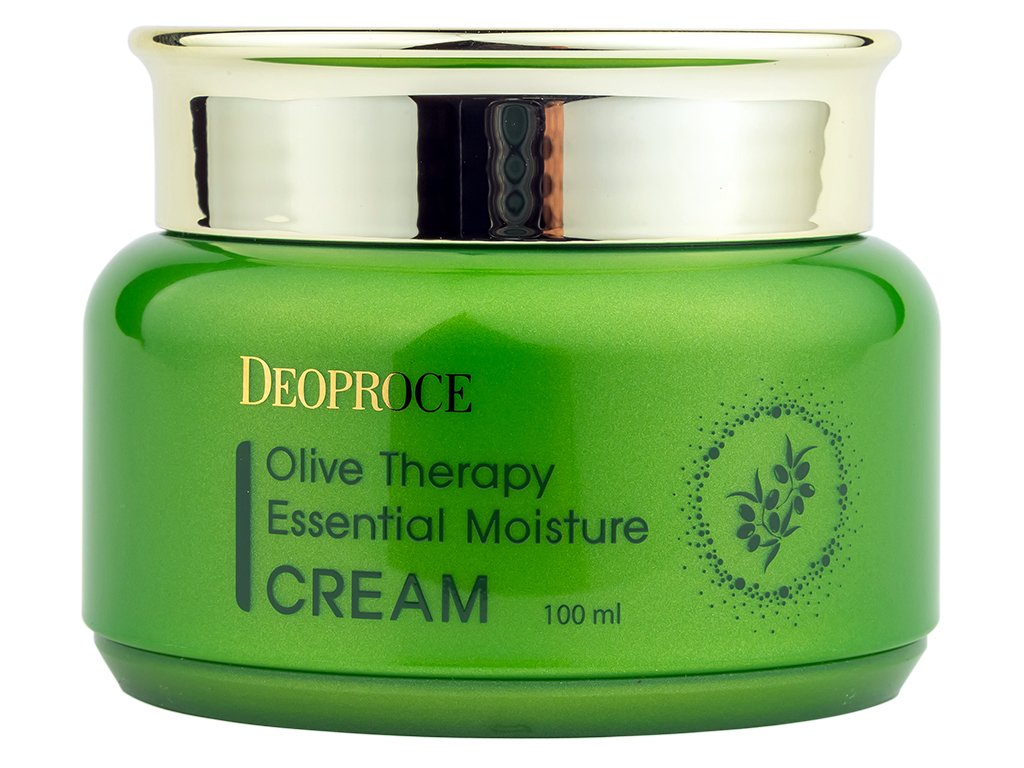 deoproce-korea-olive-therapy-essential-moisture-cream-vyzivny-krem-s-extraktem-z-oliv-100ml