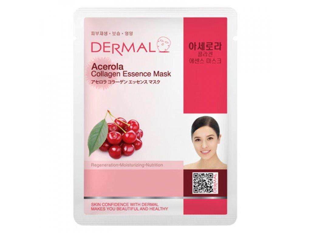 Dermal Korea Esenční kolagenová maska s Acerolou   23g