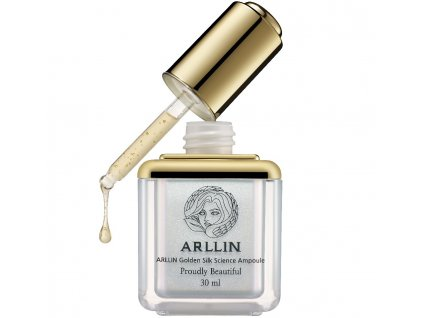 arllin golden silk ampoule night recare