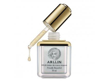 ARLLIN Golden Silk Ampoule - Night Recare / Noční intenzivní kúra s omlazujícím efektem - 30ml
