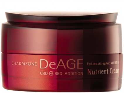 CHARMZONE DeAGE CRD Red-Addition Nutrient Cream - Revitalizační výživný krém / 50ml