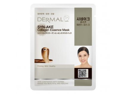 DERMAL Korea Syn-Ake Collagen Essence Mask - Esenční kolagenová maska s hadím jedem