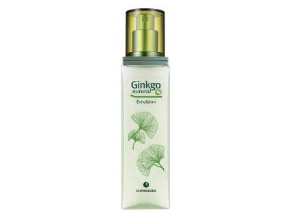 CHARMZONE Ginkgo Natural Emulsion - Hydratační zpevňující pleťová emulze 150ml