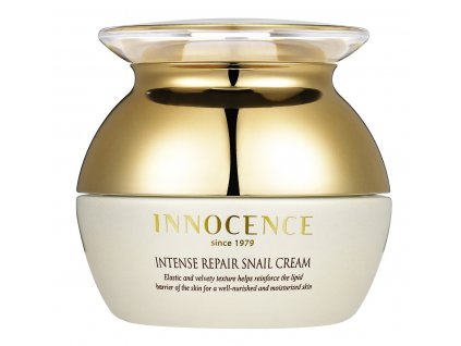 Innocence Intense Repair Snail Cream - 24-hodinový regenerační krém se šnečím sekretem (69%) / 50ml