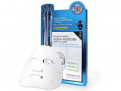 Dermal Korea Bayliss Synergy Aqua Moisture Essence Mask - Speciální esenční maska silně hydratační