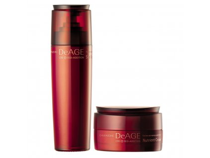 CHARMZONE DeAGE CRD Red-Addition Nutrient Cream + Skin Toner
