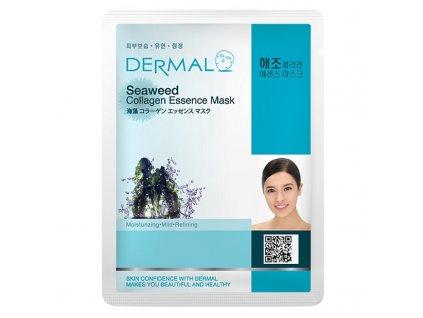 DERMAL Korea Seawed Collagen Essence Mask -  Esenční kolagenová maska z mořských řas