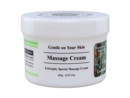 SARANGSAE Estesophy Special Massage Cream Cucumber - Pleťový masážní krém s okurkou / 450g