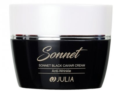 julia sonet black caviar cream