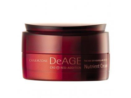 CHARMZONE DeAGE CRD Red-Addition Nutrient Cream - Revitalizační výživný krém / 50ml