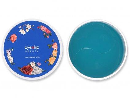 EyeNlip Beauty Hydrogel Hyaluronic Acid Eye Patch - Hydrogelová maska pod oči a na rty s kyselinou hyaluronovou | 60 ks plátků