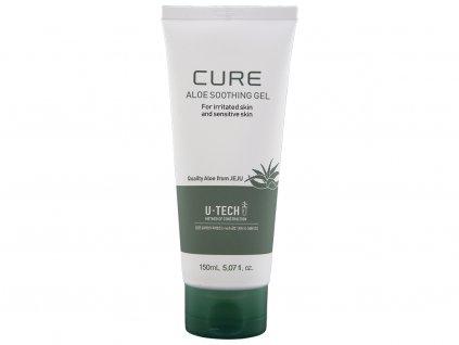KJMA Korea Cure Aloe Soothing Gel - Uklidňující gel s Aloe vera (až 90%) | 150ml