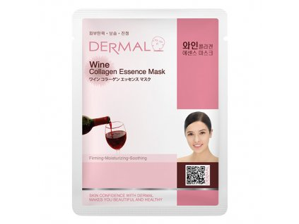 dermal-korea-wine-collagen-essence-mask-esencni-kolagenova-maska-s-vinem-23g