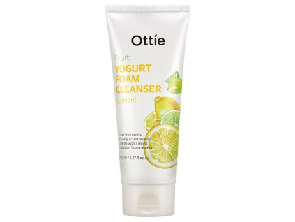 Ottie Yogurt Foam Cleanser Lemon