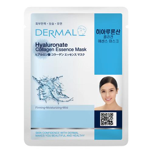 DERMAL Korea Hyaluronate Collagen Essence Mask - Esenční kolagenová maska s kyselinou hyaluronovou Kusů: 1 kus
