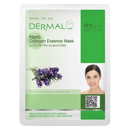 DERMAL Korea Herb Collagen Essence Mask - Esenční kolagenová maska z bylin Kusů: 1 kus