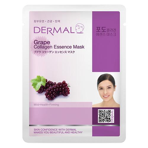DERMAL Korea Grape Collagen Essence Mask - Esenční kolagenová maska z hroznů Kusů: 1 kus