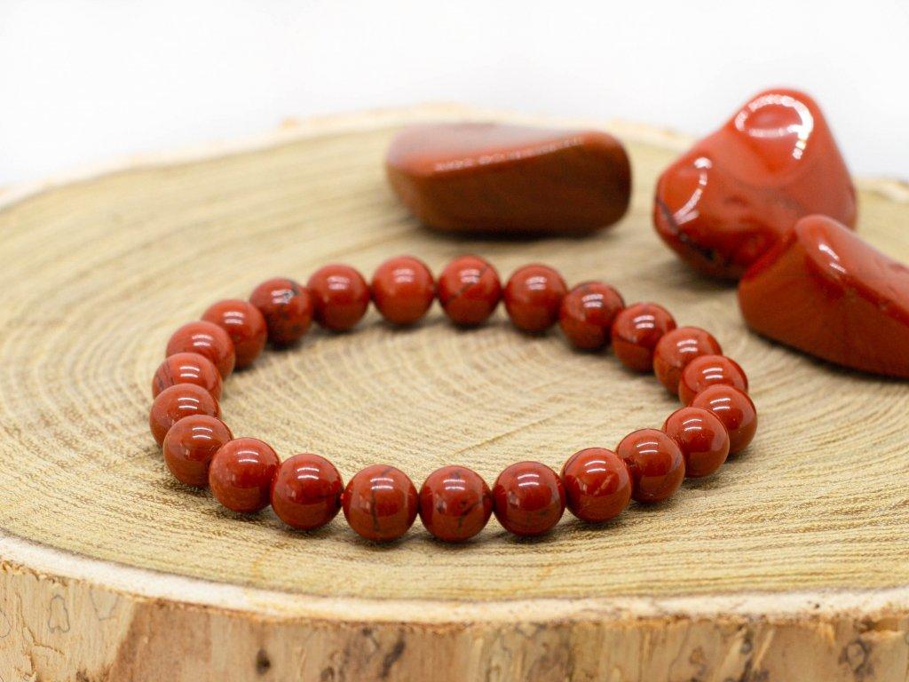 naramek jaspis cerveny