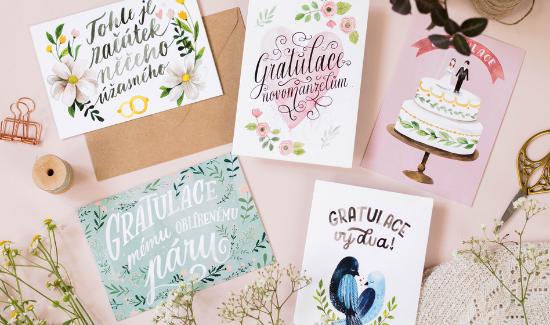 Tipy na texty do přání pro novomanžele