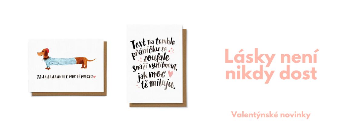 valentýnské novinky