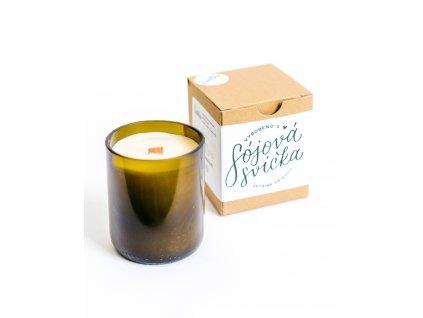 Sójová svíčka 250ml - kokos