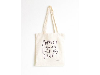 Tote bag - Support your local planet