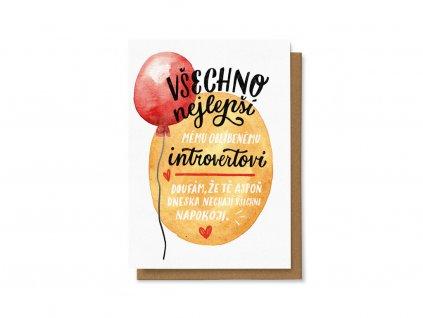Všechno nejlepší introvertovi