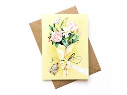Jen tak pro radost - květina